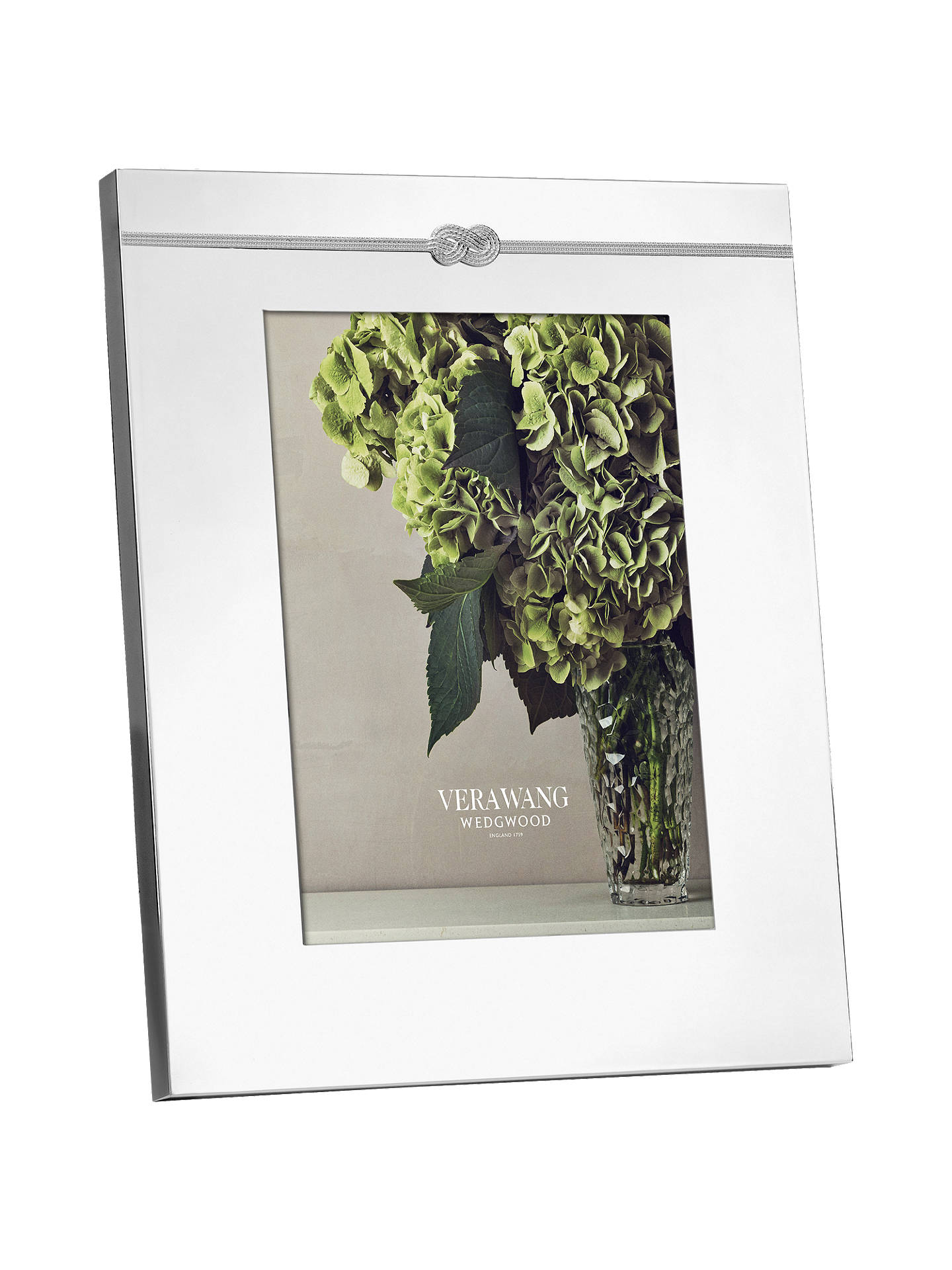 Vera Wang For Wedgwood Infinity Frame 8 X 10 20 X 25cm Silver