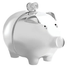 Buy Vera Wang for Wedgwood Infinity Piggy Bank Online at johnlewis.com
