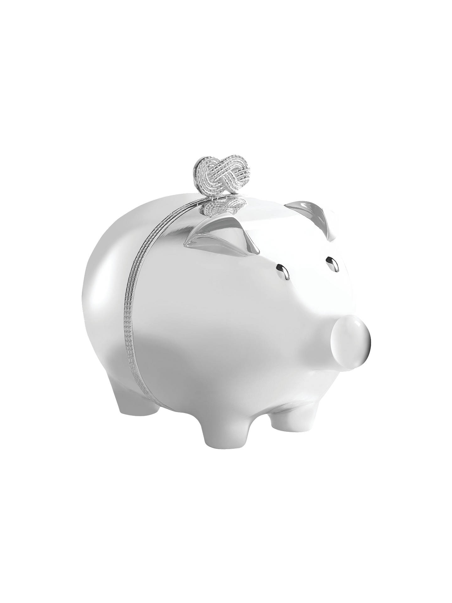 f7ff9f4ca153 Buy Vera Wang for Wedgwood Infinity Piggy Bank Online at johnlewis.com ...