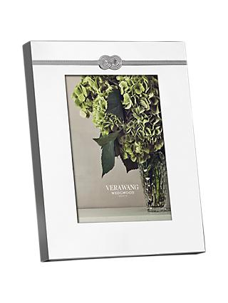 "Vera Wang for Wedgwood Infinity Photo Frame, 5 x 7"" (13 x 18cm)"
