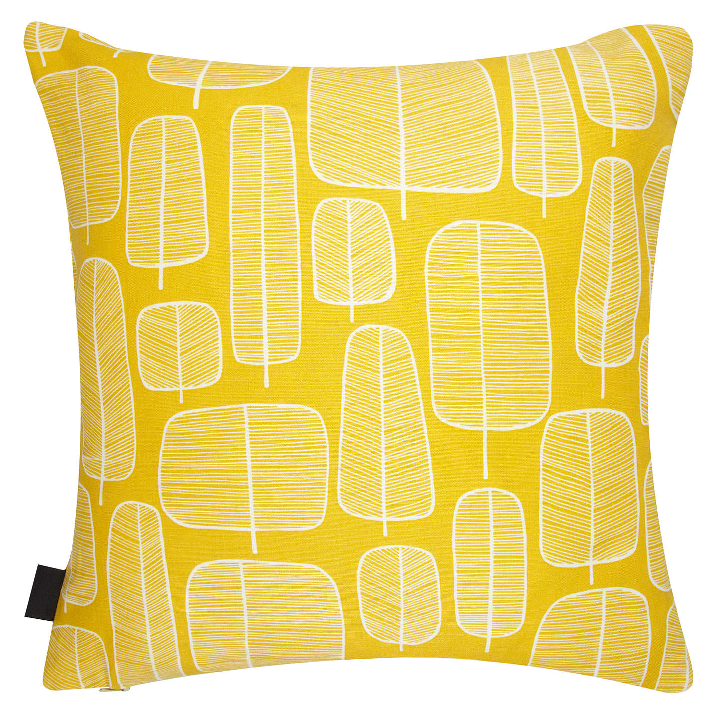 BuyMissPrint Home Little Trees Cushion,Yellow Online at johnlewis.com