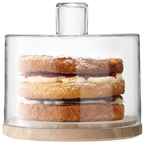 Buy LSA International Lotta Cake/ Cheese Dome, Dia.25cm Online at johnlewis.com