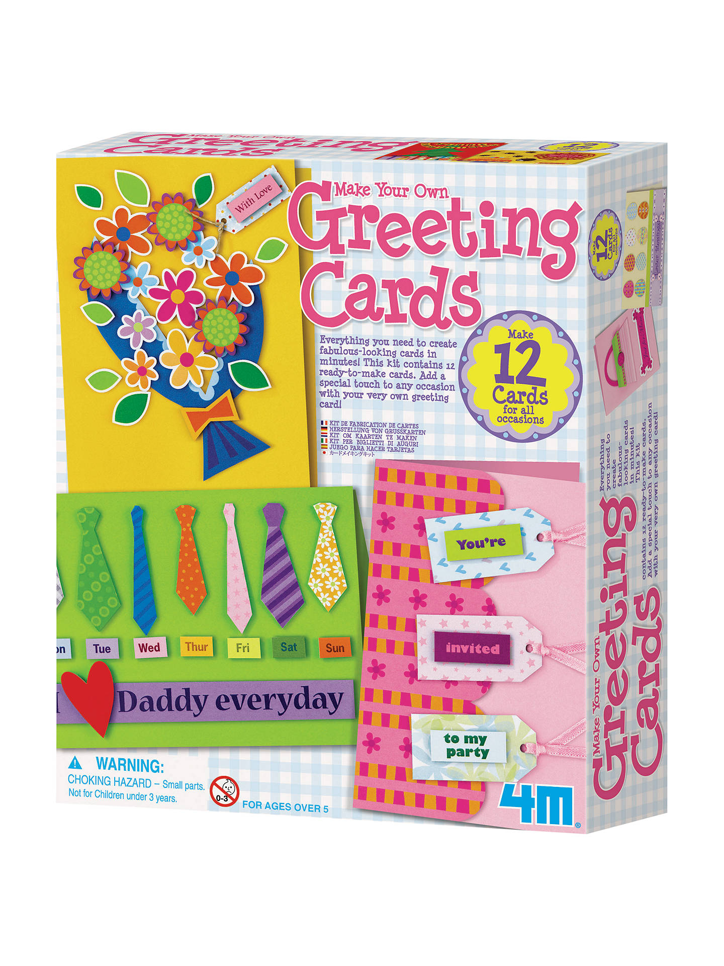 Great Gizmos Make Your Own Greeting Cards Kit at John Lewis & Partners