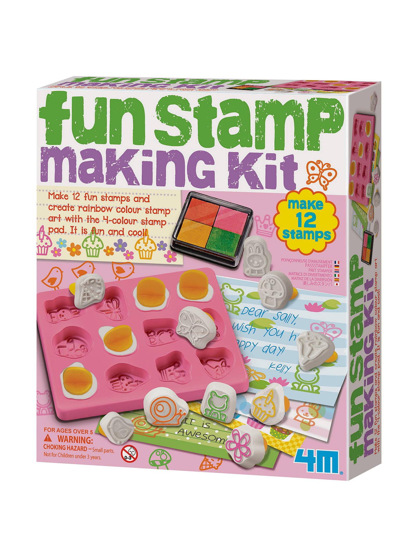 BuyGreat Gizmos Fun Stamp Making Kit Online At Johnlewis