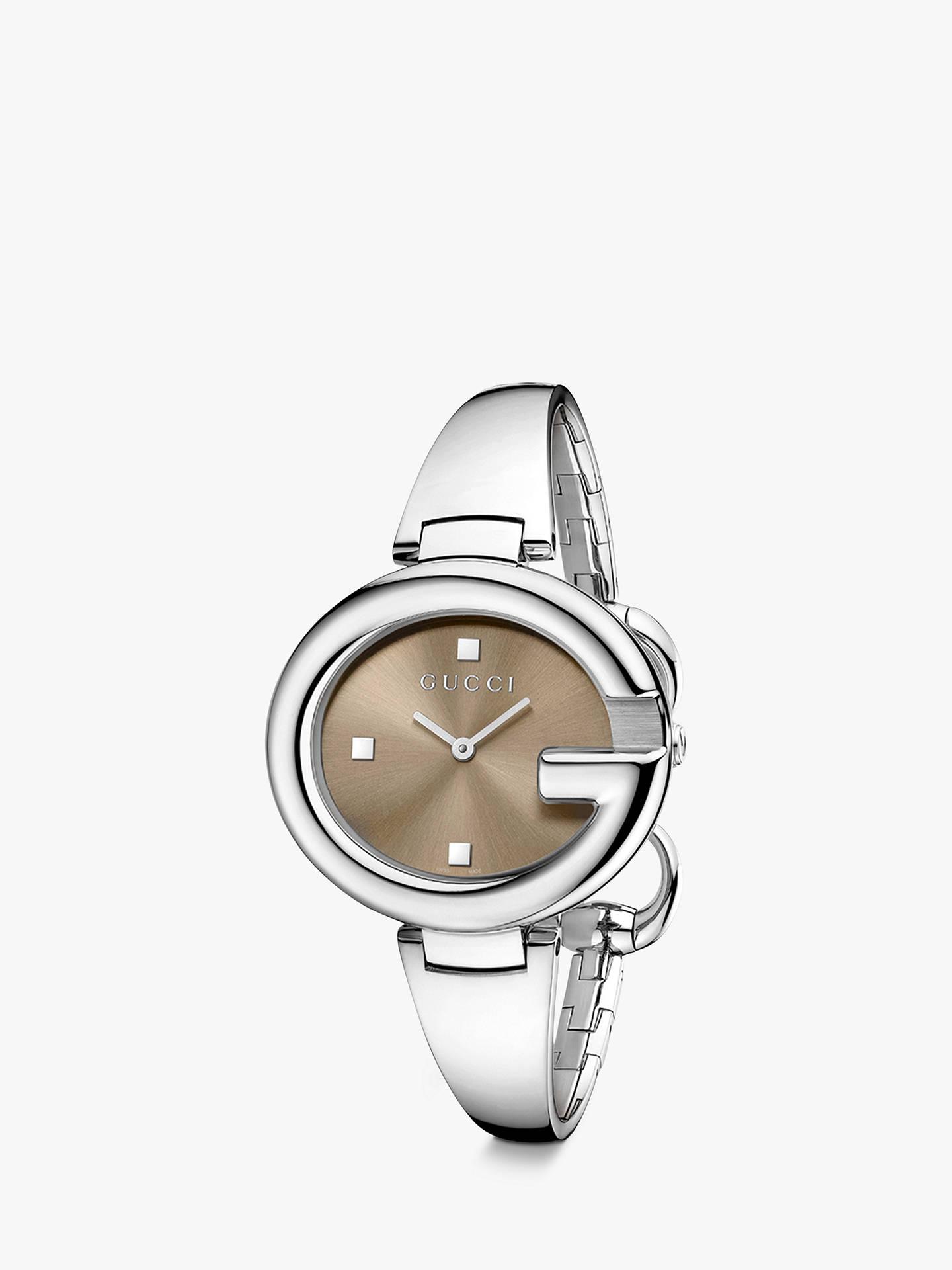 d559d89db9e Buy Gucci YA134302 Women s Guccissima Bangle Strap Watch