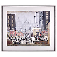 Buy L. S. Lowry - Coming From The Mill 1930 Framed Print, 80 x 68cm Online at johnlewis.com