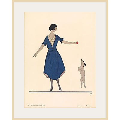 The Courtauld Gallery, Gazette Du Bon Ton – No 1 1921 Hop La Print, 50 x 40cm