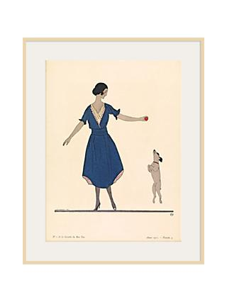 The Courtauld Gallery, Gazette Du Bon Ton - No 1 1921 Hop La Print, 50 x 40cm