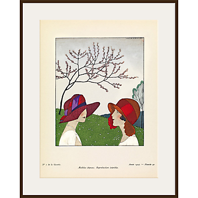 The Courtauld Gallery, Gazette Du Bon Ton – No 7 1924 Le Triste Hiver à Fait Place au Printemps