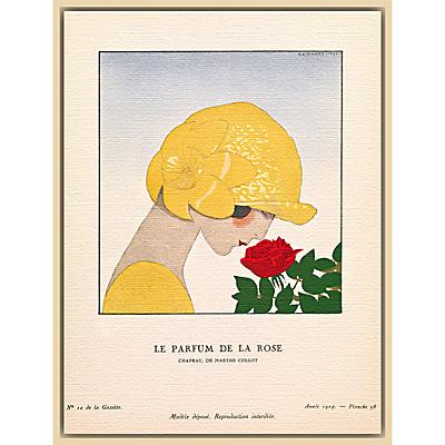 The Courtauld Gallery, Gazette Du Bon Ton – No10 1924 Le Parfum De La Rose Print, 50 x 40cm