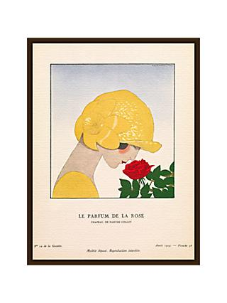 The Courtauld Gallery, Gazette Du Bon Ton - No10 1924 Le Parfum De La Rose Print, 50 x 40cm