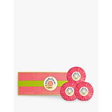 Buy Roger & Gallet Fleur de Figuier Soap Coffret, 3 x 100g Online at johnlewis.com