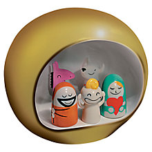 Buy Alessi Presepe Group Nativity Figures Christmas Decoration Online at johnlewis.com