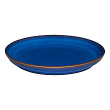 Buy Denby Imperial Blue Medium 21cm Coupe Plate Online at johnlewis.com