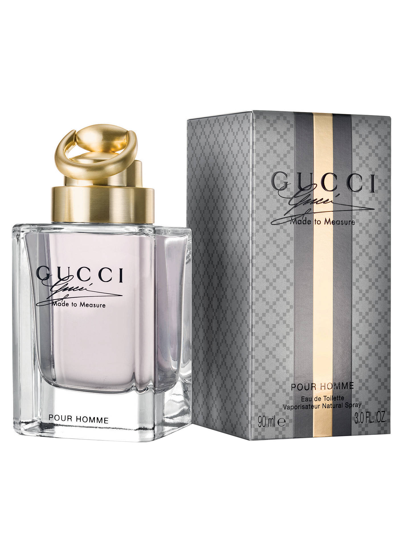 Buy Gucci Made to Measure Eau de Toilette for Him, 30ml Online at johnlewis.com