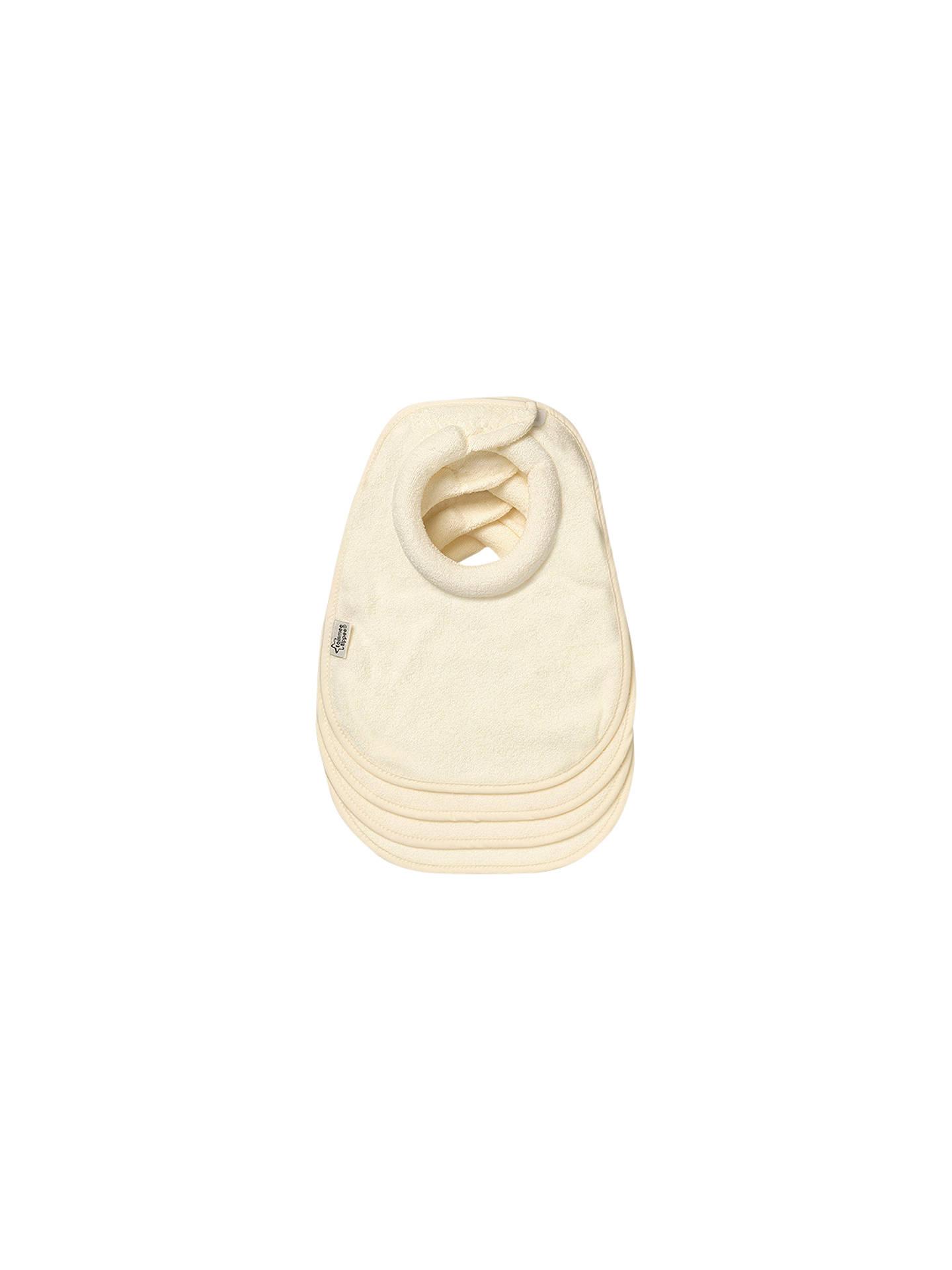 Tommee Tippee Milk Feeding Bibs Pack Of 4 Cream At John Lewis Baby Scissor With Cover Buytommee Online