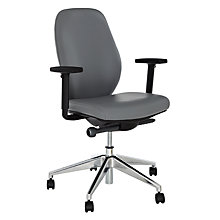 Buy Boss Design Sona Leather Office Chair Online at johnlewis.com