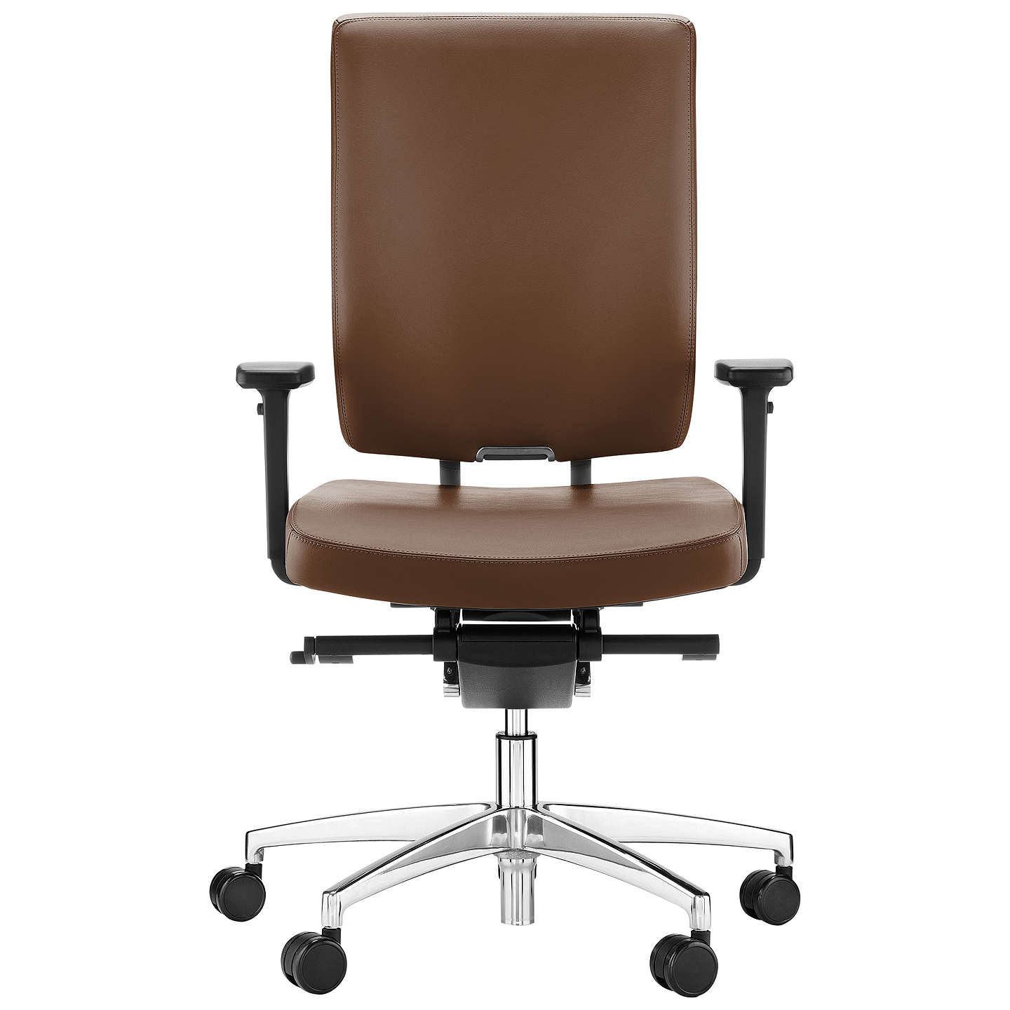 boss design sona leather office chair at john lewis