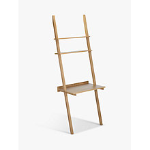 Buy John Lewis Colosseum Ladder Desk, FSC-Certified, Oak Online at johnlewis.com