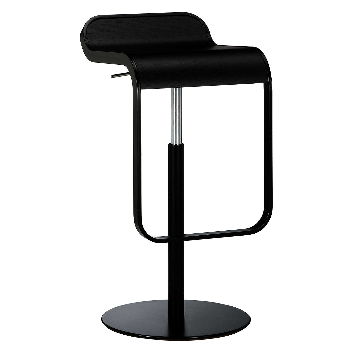 La palma lem bar stool black at john lewis for Lem lapalma