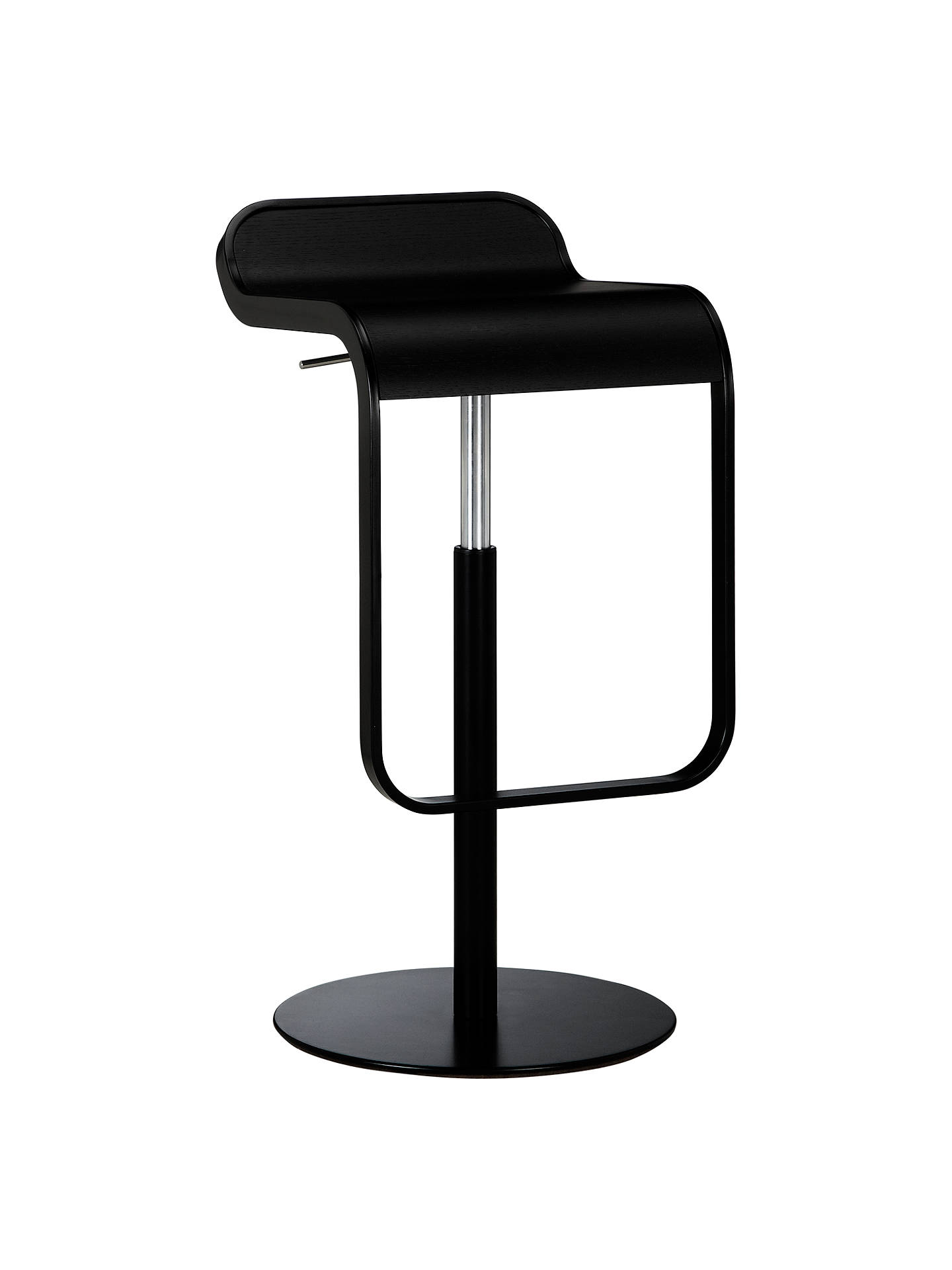 la palma lem bar stool black at john lewis partners. Black Bedroom Furniture Sets. Home Design Ideas