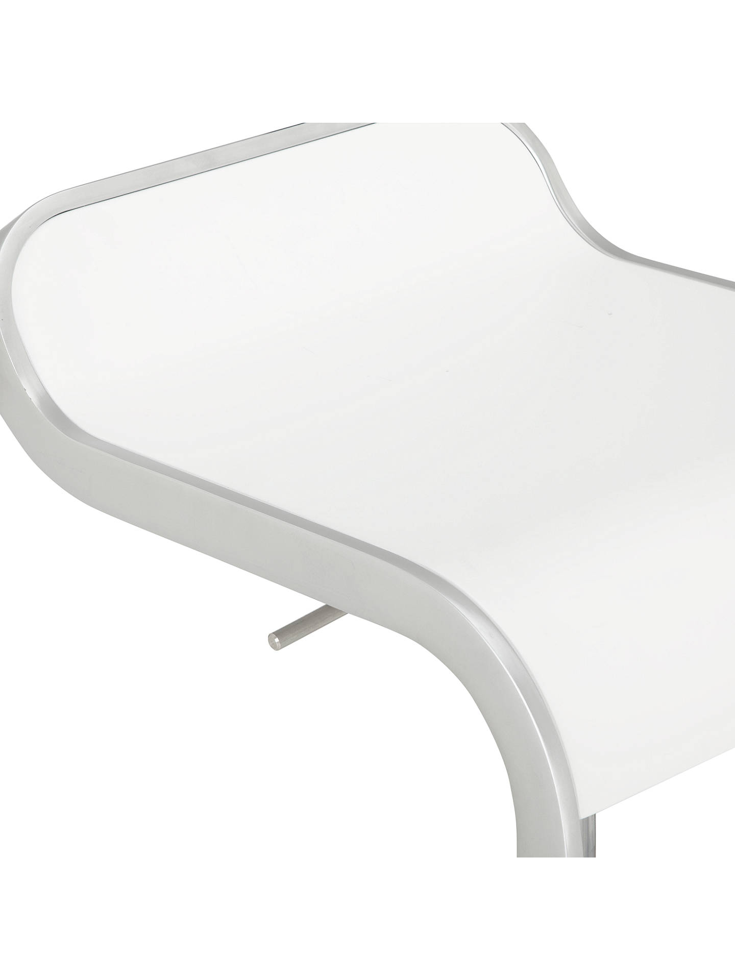 La Palma Lem Bar Stool White At John Lewis Amp Partners