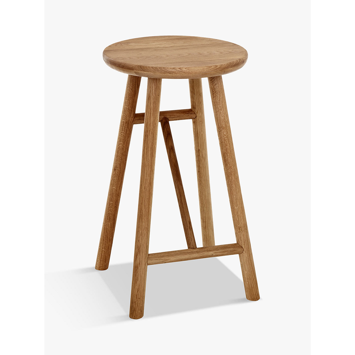 Buy Says Who for John Lewis Why Wood Bar Stool