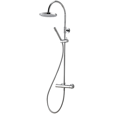 Aqualisa Futori XT Exposed HP/Combi Shower with Fixed and Adjustable Heads