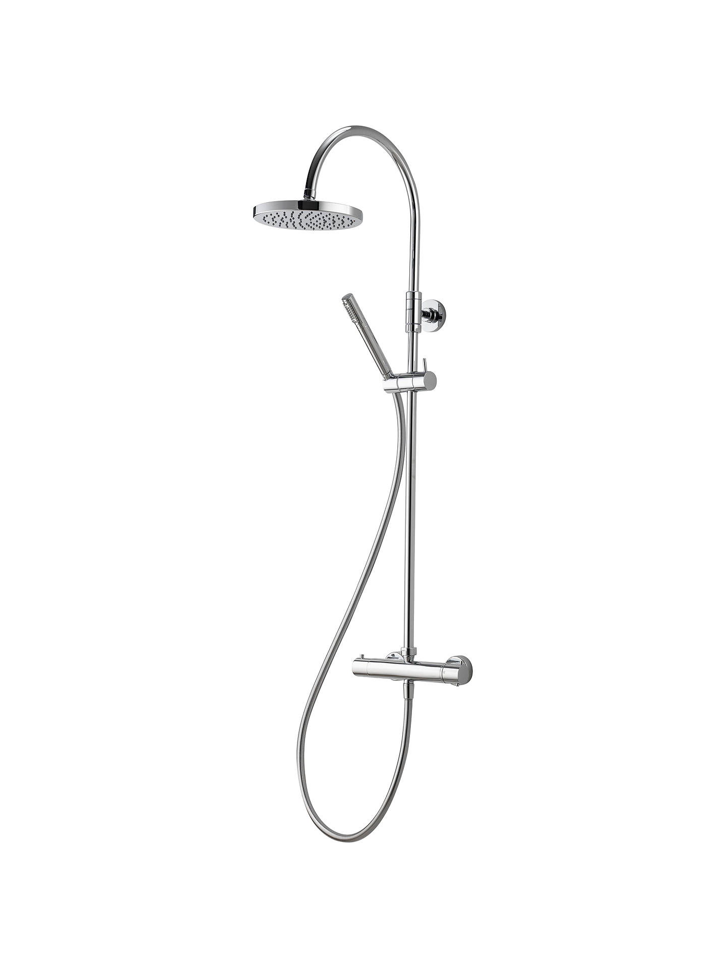 Aqualisa Futori XT Exposed HP/Combi Shower with Fixed and Adjustable ...