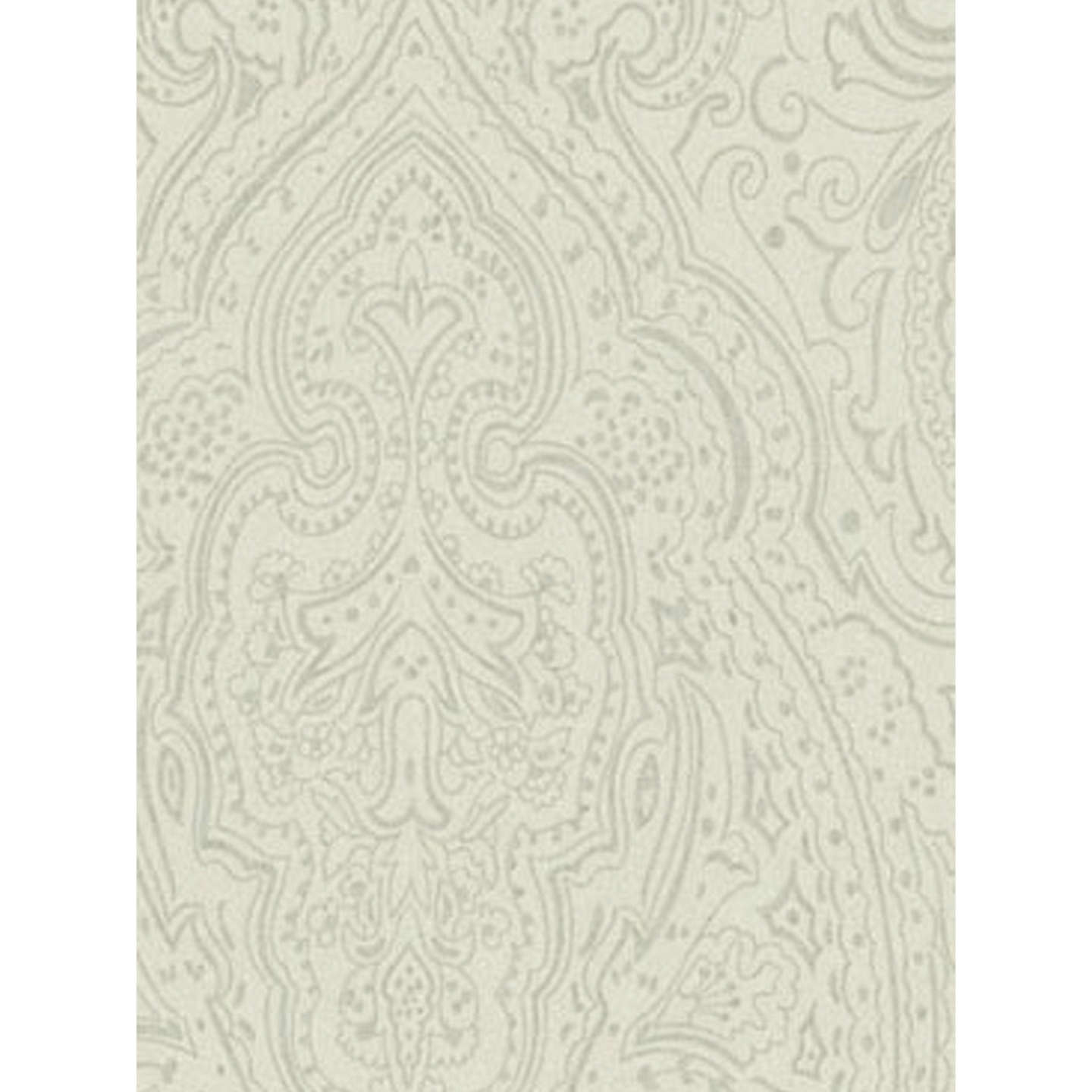 BuyOsborne & Little Vaujours Wallpaper, Linen / Silver, W6014-06 Online at johnlewis.com