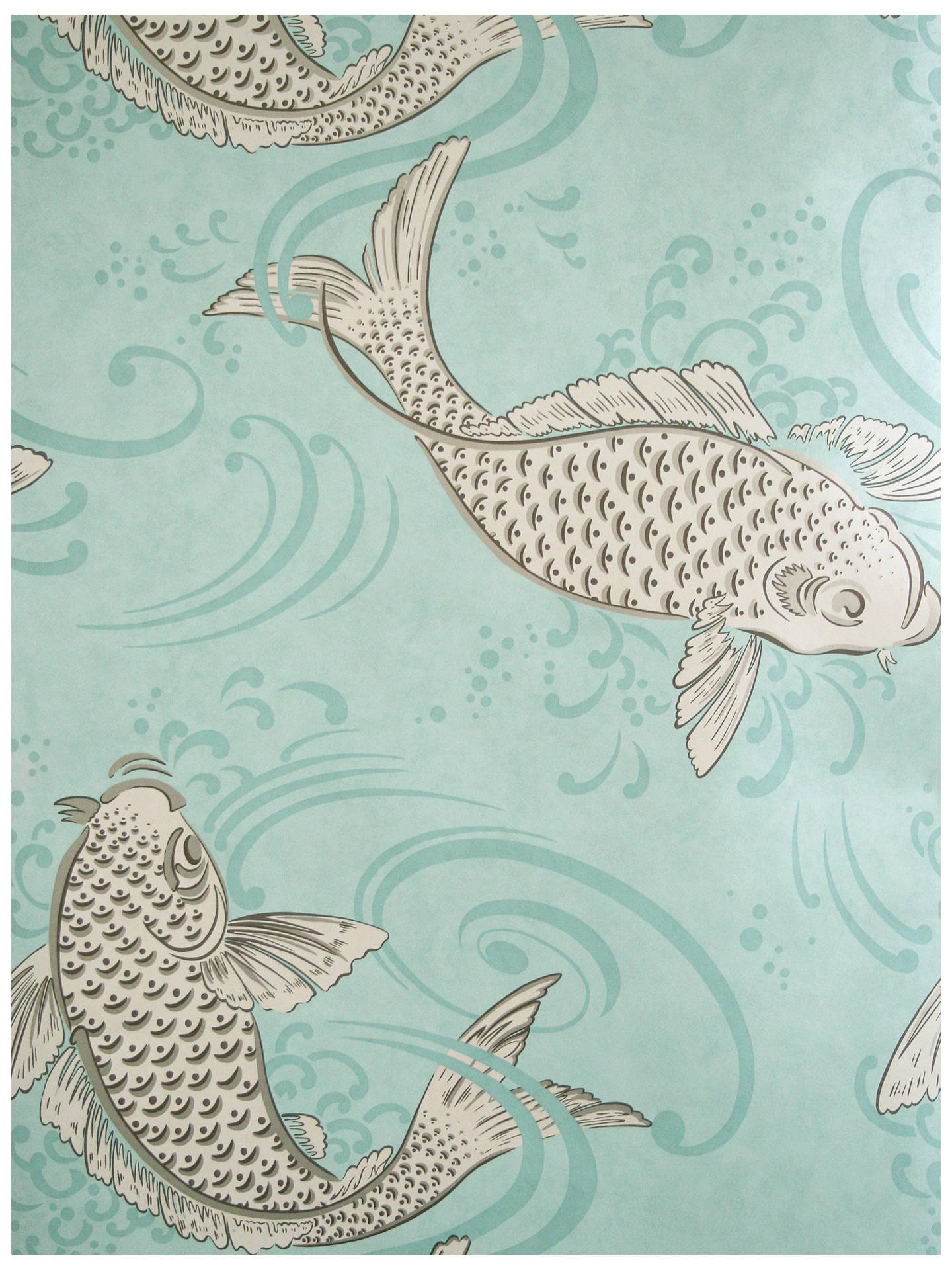 Osborne Little Derwent Wallpaper Aqua W5796 06