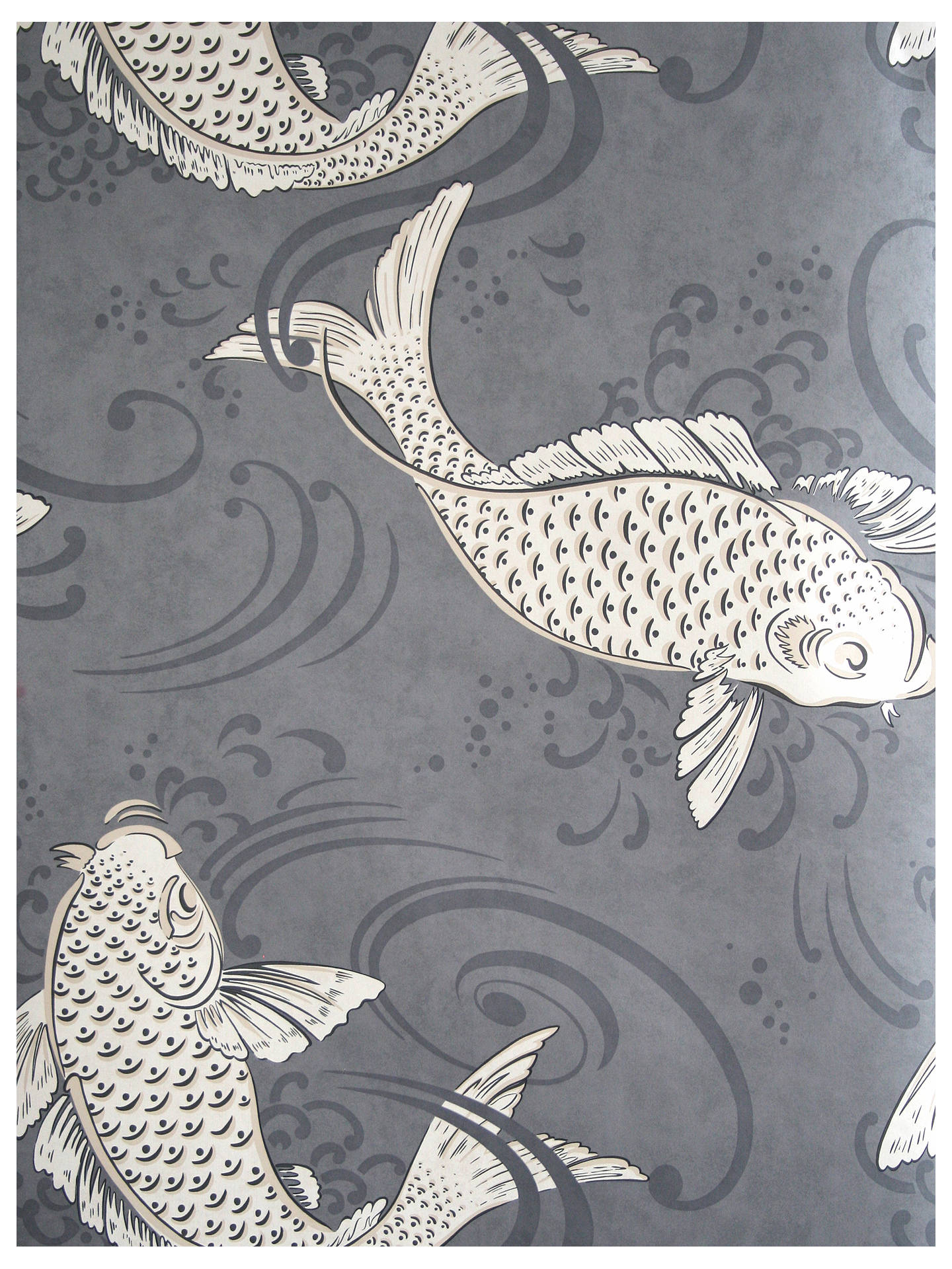 Buy Osborne & Little Derwent Wallpaper, Graphite, W5796-04 Online at johnlewis.com