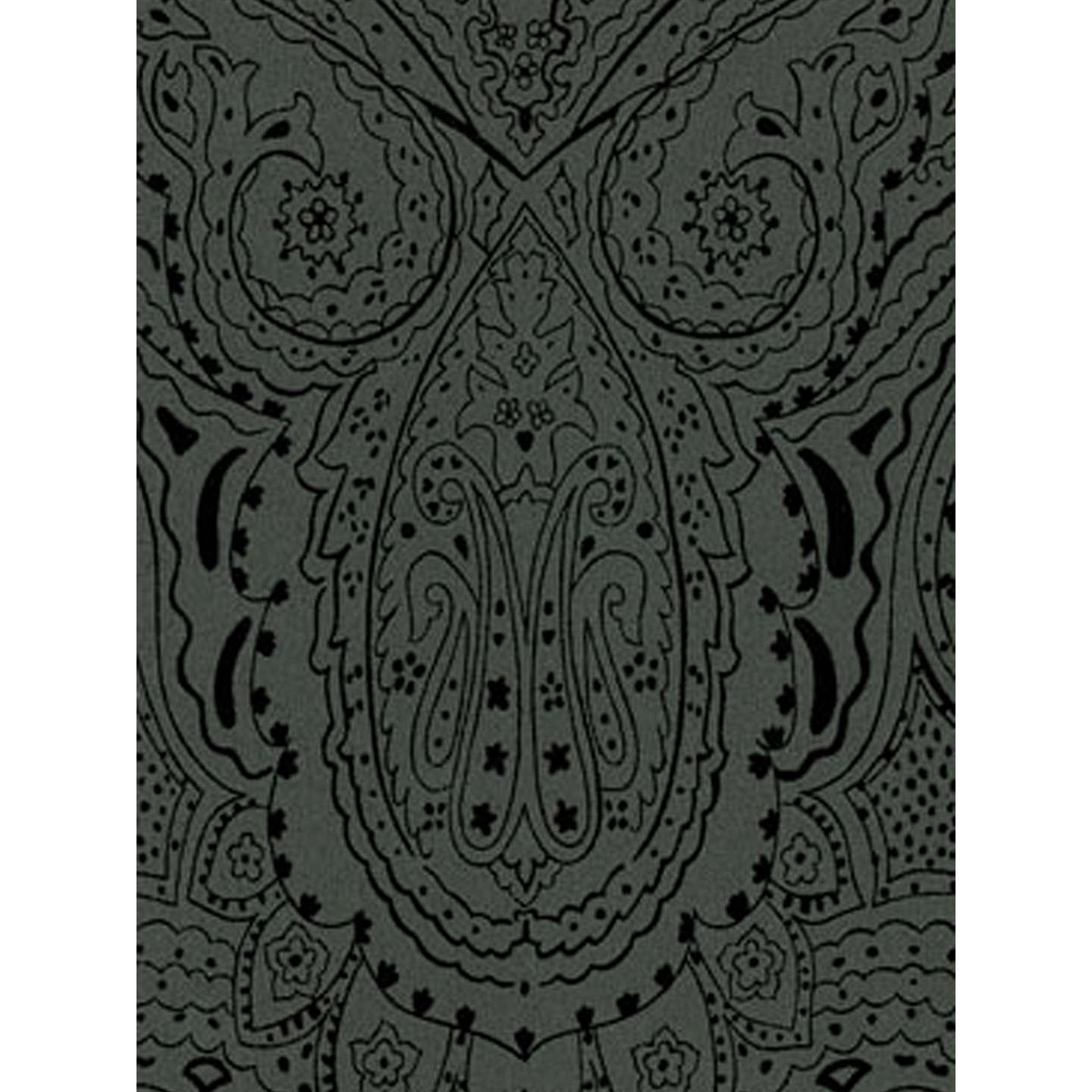 BuyOsborne & Little Vaujours Wallpaper, Black / Gloss, W6014-02 Online at johnlewis.com