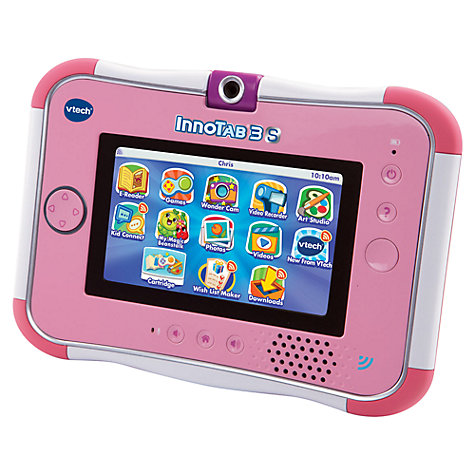 Buy VTech InnoTab 3S With £10 App Card Included, Pink Online at johnlewis.com