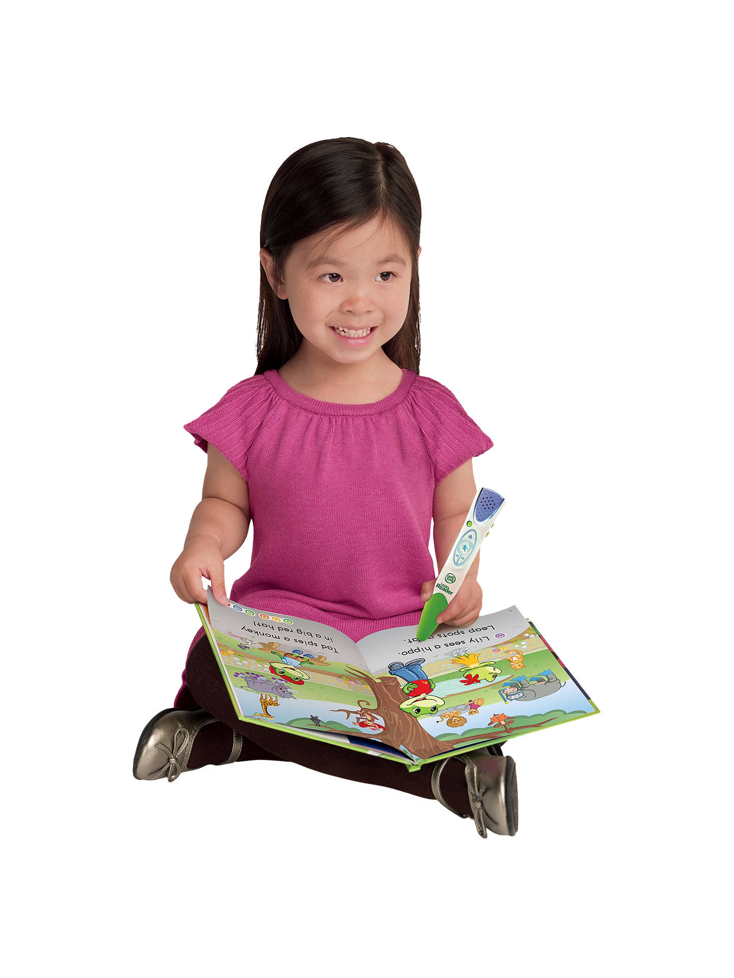 LeapFrog Green Leapreader Reading and Writing System at John Lewis
