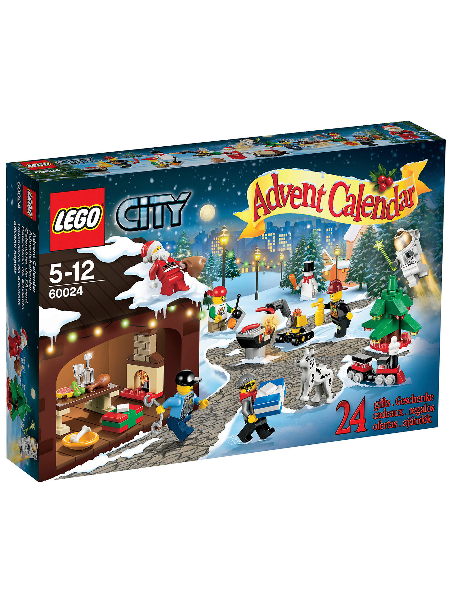Buy LEGO City Advent Calendar Online at johnlewis.com