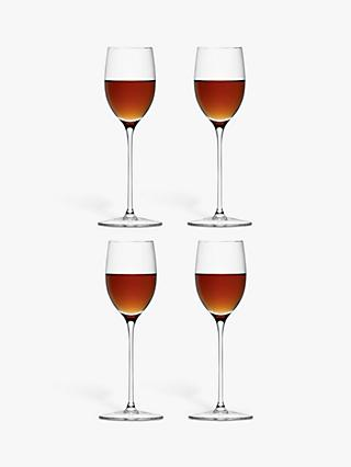 LSA International Bar Collection Sherry Glasses, Set of 4