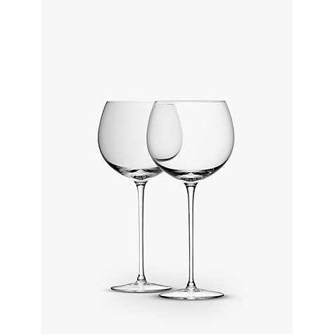 Buy LSA International Bar Collection Balloon Glass, Set of 4 Online at johnlewis.com