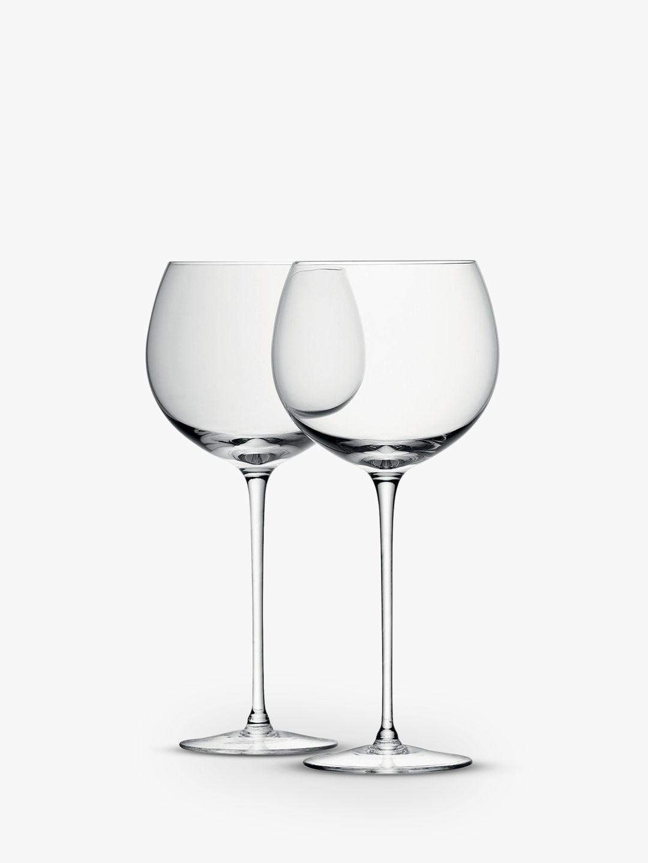LSA International LSA International Bar Collection Balloon Wine / Gin Glass, 570ml, Set of 4