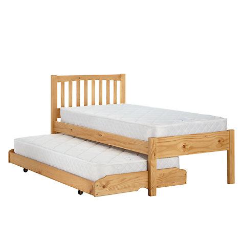 ... Buy John Lewis The Basics Woodstock Trundle Guest Bed Online at  johnlewis.com ...