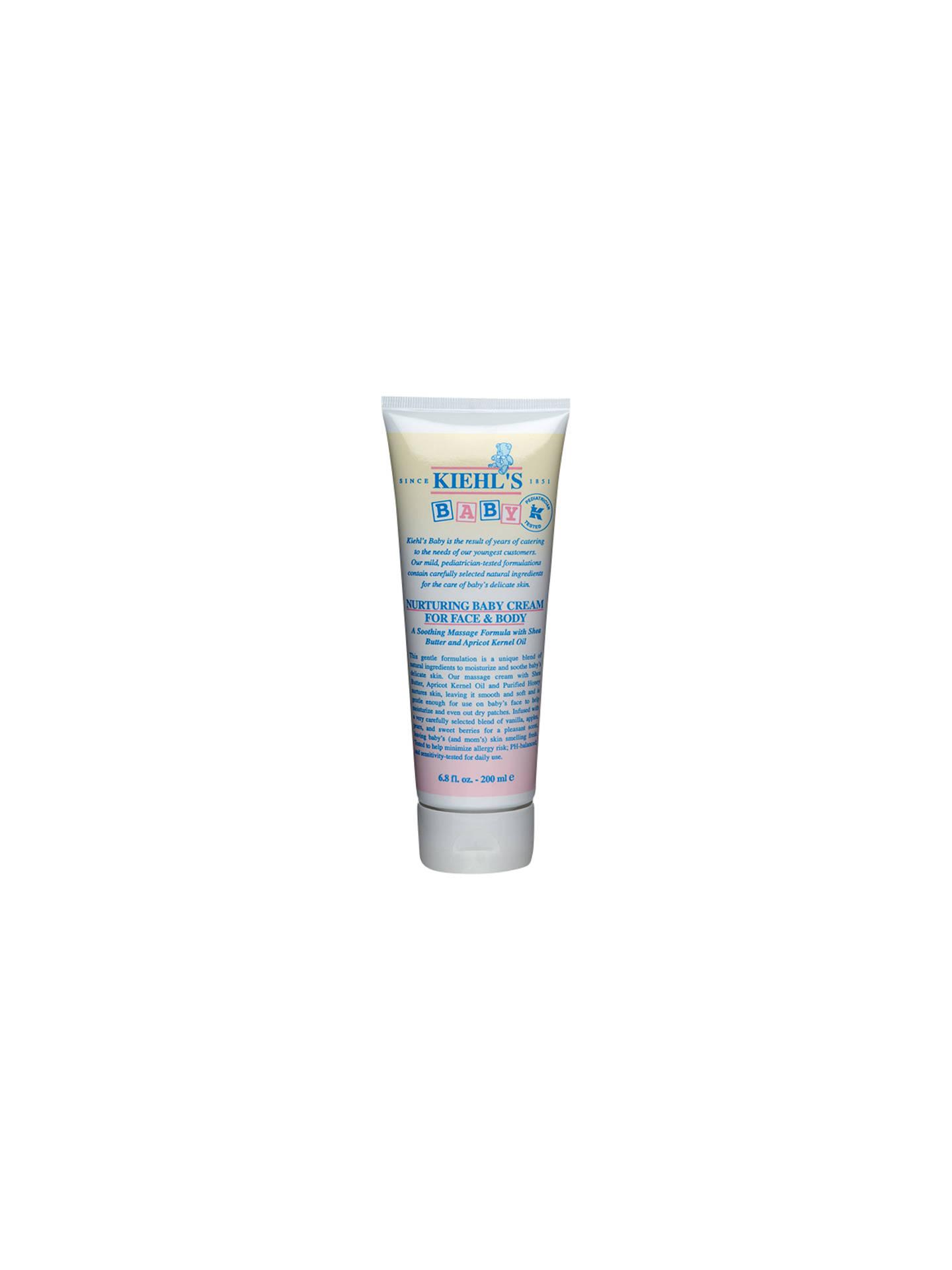Kiehl's Nurturing Baby Cream for Face and Body, 200ml
