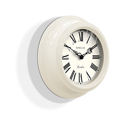 Buy Newgate Gallery Wall Clock Cream John Lewis