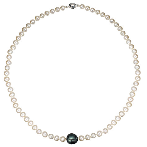 "Buy A B Davis Baroque River Pearl 18"" Necklace Online at johnlewis.com"