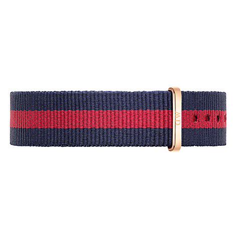 Buy Daniel Wellington Women's Nato Fabric Strap Watch Online at johnlewis.com