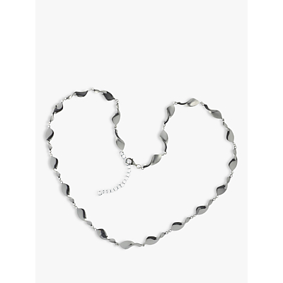 Nina B Sterling Silver Swirls Necklace