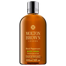 Buy Molton Brown Black Peppercorn Body Wash, 300ml Online at johnlewis.com