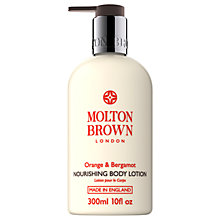 Buy Molton Brown Orange & Bergamot Nourishing Body Lotion, 300ml Online at johnlewis.com