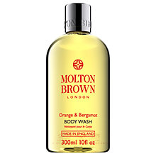 Buy Molton Brown Orange & Bergamot Body Wash, 300ml Online at johnlewis.com