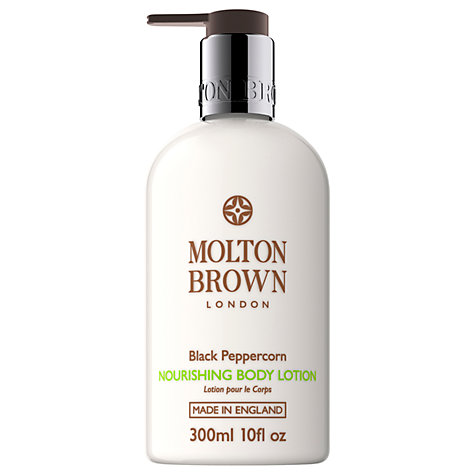 Buy Molton Brown Black Peppercorn Nourishing Body Lotion, 300ml Online at johnlewis.com