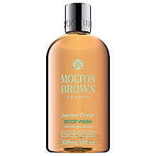Buy Molton Brown Japanese Orange Body Wash, 300ml Online at johnlewis.com